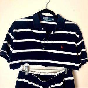 Polo by Ralph Lauren Other - Handmade Vintage Polo Rework Two Piece Set